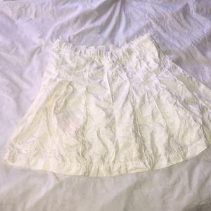 Pleated nike tennis skirt